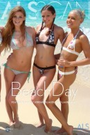 Amy Lee & Faye Reagan & Hailey Young & Kacey Jordan & Klaudia & Laura King in Beachday gallery from ALS SCAN