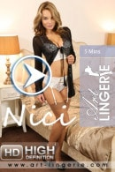 Nici in  video from ART-LINGERIE