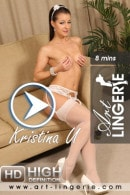 Kristina U in  video from ART-LINGERIE