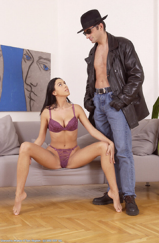 Eva in blowjob gallery from ATKARCHIVES