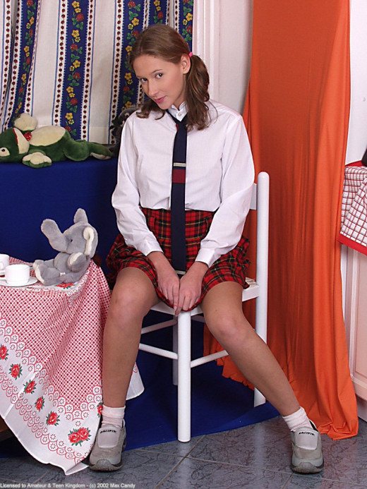 Veronika in coeds in uniform gallery from ATKARCHIVES