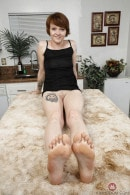 Lucy Valentine in FOOTFETISH gallery from ATKGALLERIA