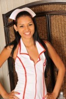 Cassie Cruz in uniforms gallery from ATKPETITES