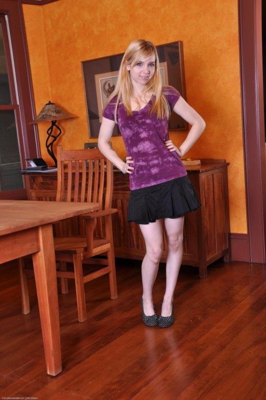 Zoe in upskirts and panties gallery from ATKPETITES