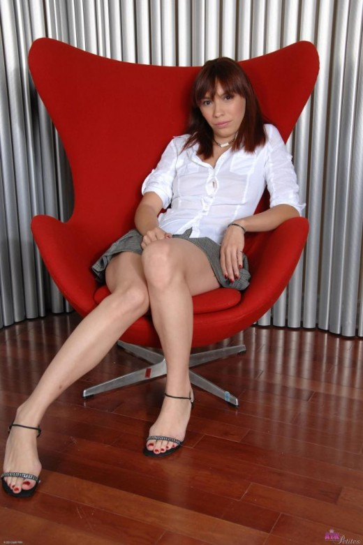 Risika in upskirts and panties gallery from ATKPETITES