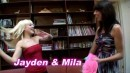 Jayden Pierson & Mila Beth in Lesbian video from ATKPETITES by Donald Byrd