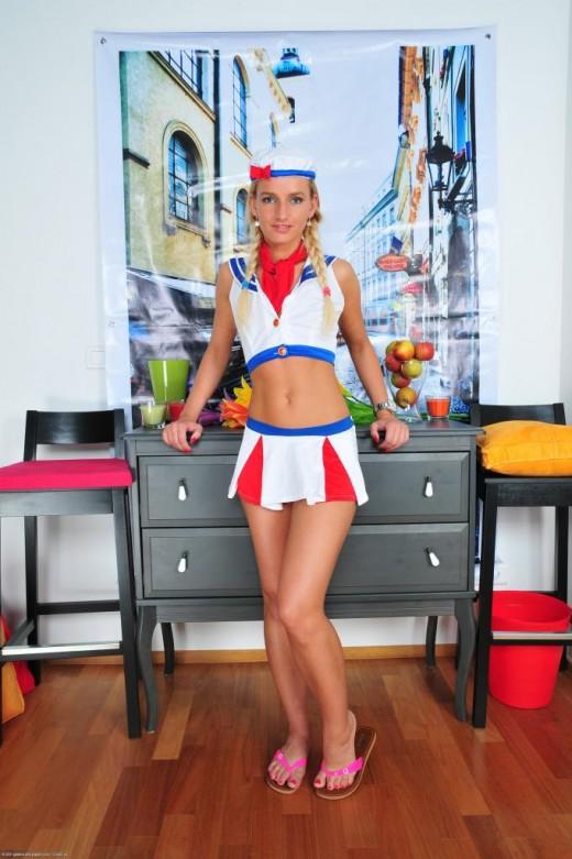 Megan Promesita in uniforms gallery from ATKPETITES