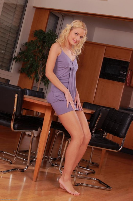 Michelle in upskirts and panties gallery from ATKPETITES