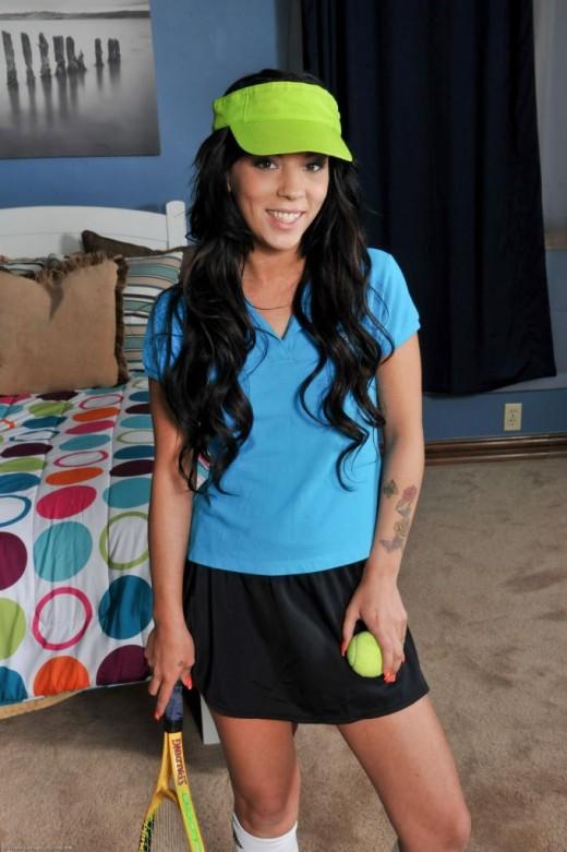 Venus Harris in uniforms gallery from ATKPETITES