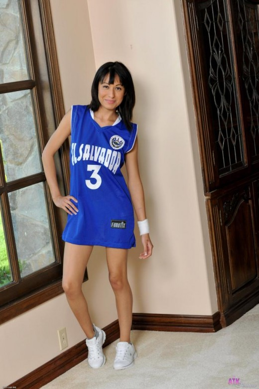 Lilly Evans in uniforms gallery from ATKPETITES