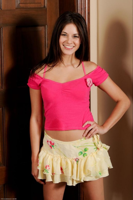 Shyla Jennings in upskirts and panties gallery from ATKPETITES