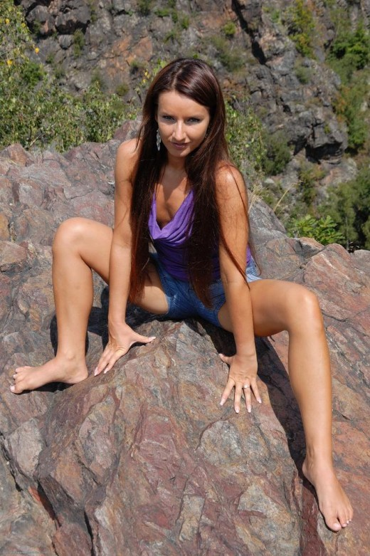 Megan Promesita in nudism gallery from ATKPETITES