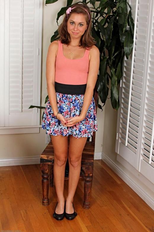 Riley Reid in footfetish gallery from ATKPETITES
