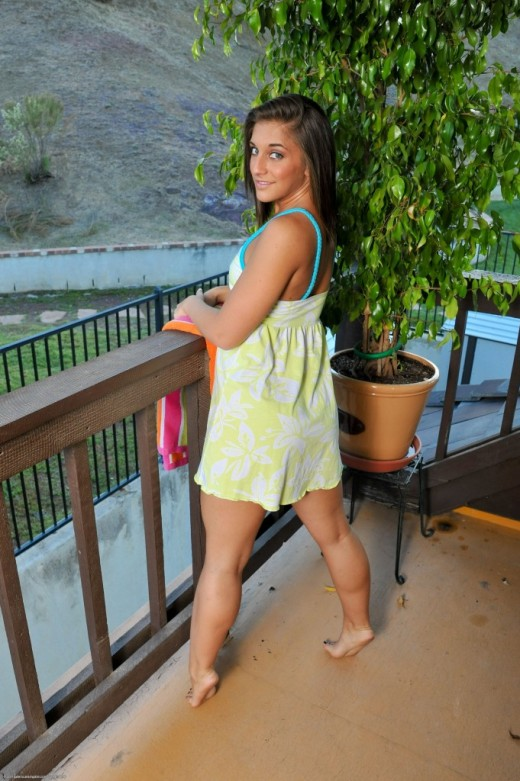 Mischa Brooks in nudism gallery from ATKPETITES