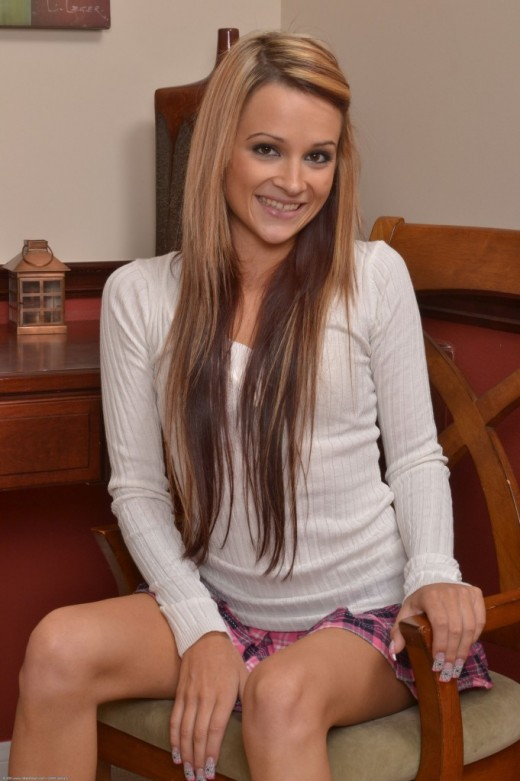 Laney Boggs in upskirts and panties gallery from ATKPETITES