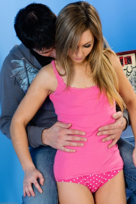Nicole in blowjob gallery from ATKPETITES