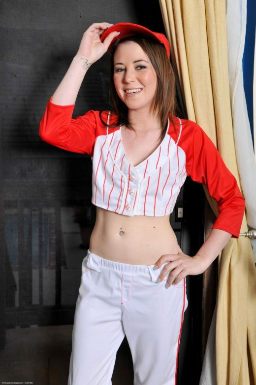 Ashley Shannon in uniforms gallery from ATKPETITES