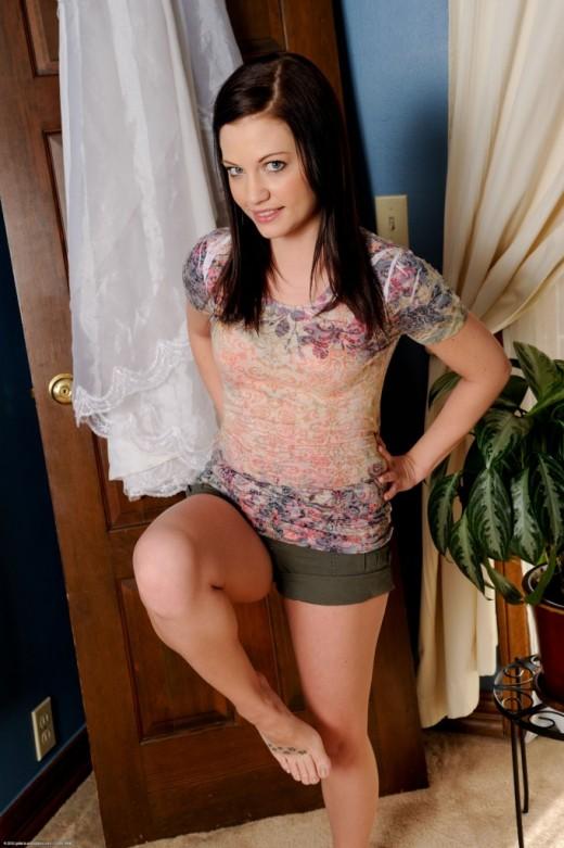Brandi Belle in footfetish gallery from ATKPETITES