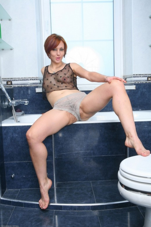 Lora in mature and hairy gallery from ATKPETITES