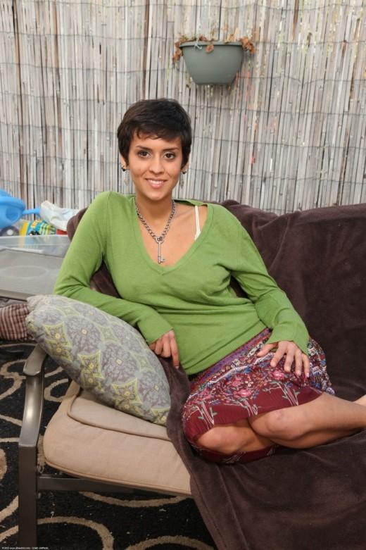Sonya in nudism gallery from ATKPETITES
