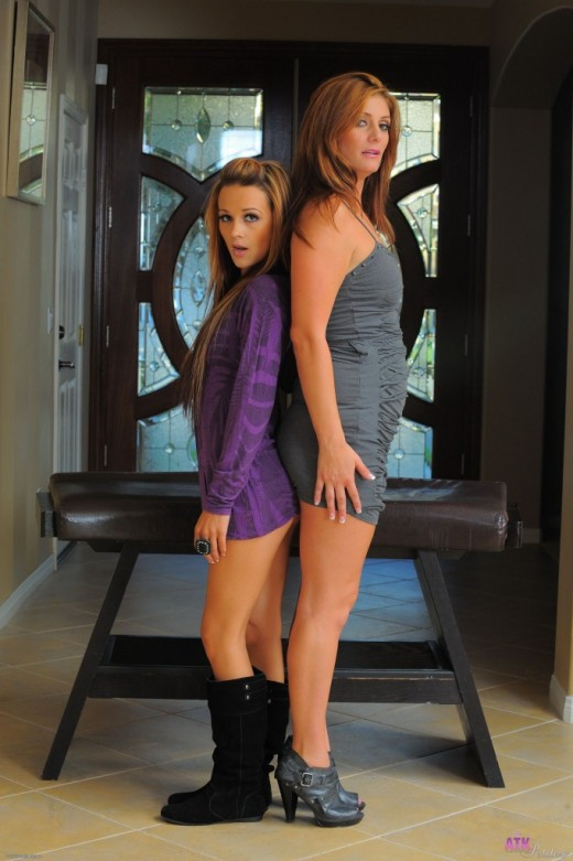 Laney Boggs & Alicia Silver in amateur gallery from ATKPETITES