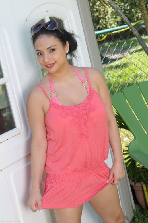 Rikki Nyx in nudism gallery from ATKPETITES