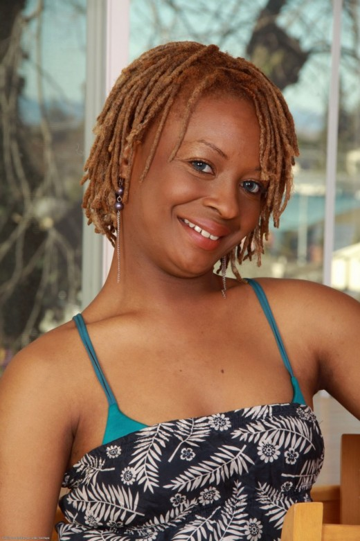 Vixen Fyre in black women gallery from ATKPETITES