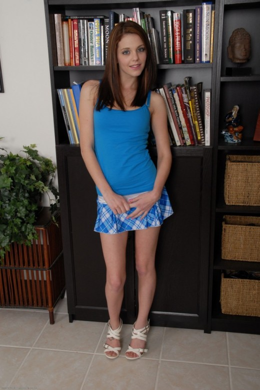 Kiera Winters in upskirts and panties gallery from ATKPETITES