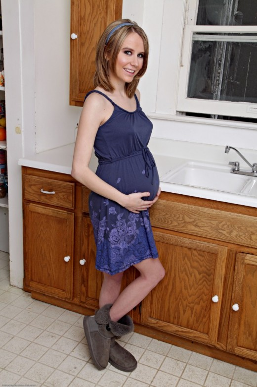 Kelly Klass in pregnant gallery from ATKPETITES