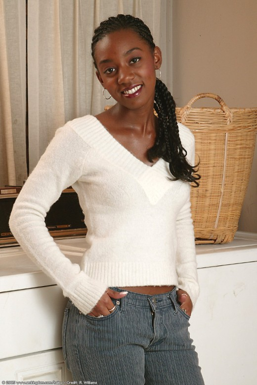 Liyah in black women gallery from ATKPETITES