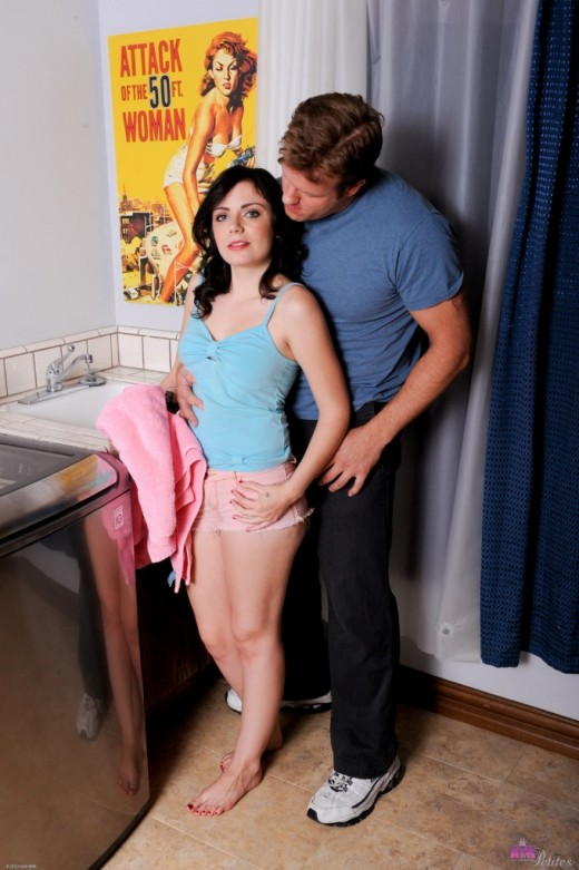 Alexis Blaze in action gallery from ATKPETITES