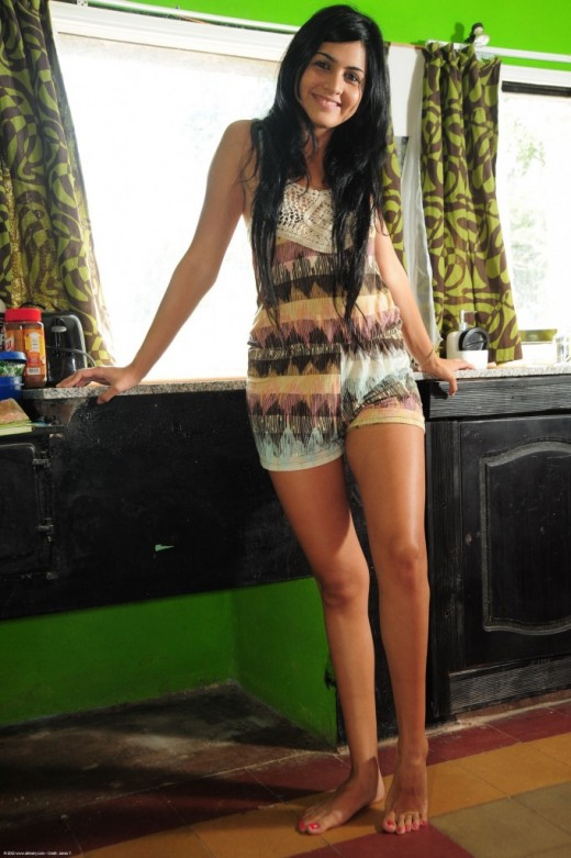 Paz in exotic and hairy gallery from ATKPETITES