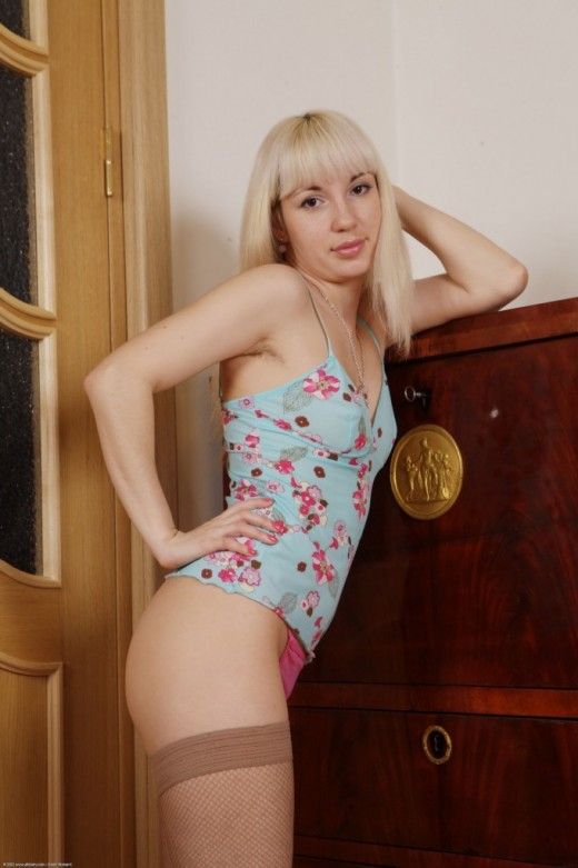 Angie in scary hairy gallery from ATKPETITES