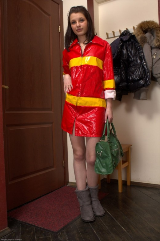 Lida in uniforms gallery from ATKPETITES