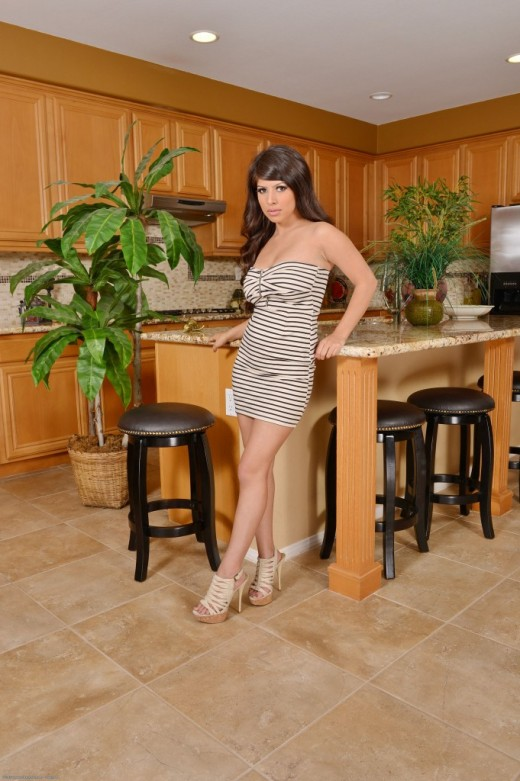 Layla Rose in dime pieces gallery from ATKPETITES