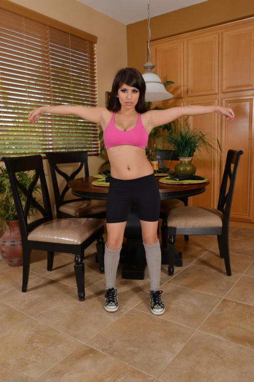 Layla Rose in upskirts and panties gallery from ATKPETITES