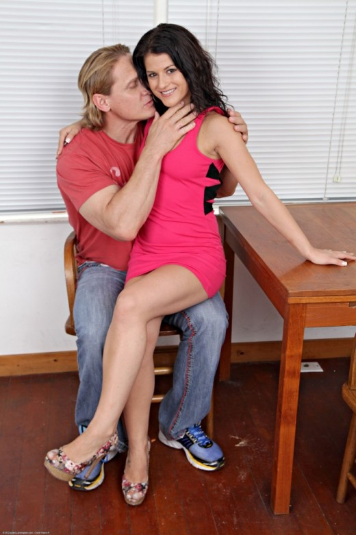 Aubrey Sky in action gallery from ATKPETITES