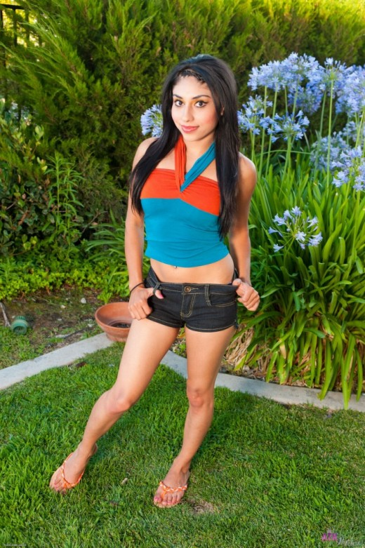 Candy Martinez in nudism gallery from ATKPETITES