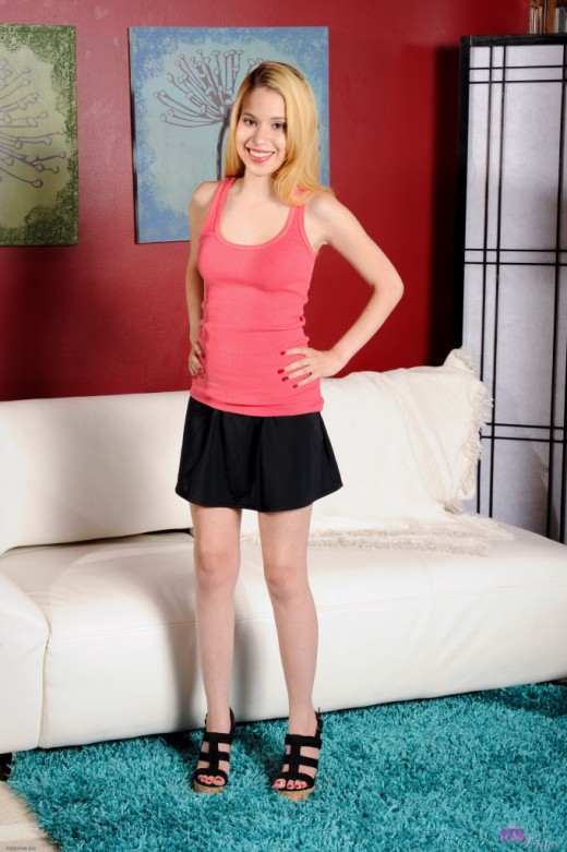 Mae Olsen in upskirts and panties gallery from ATKPETITES