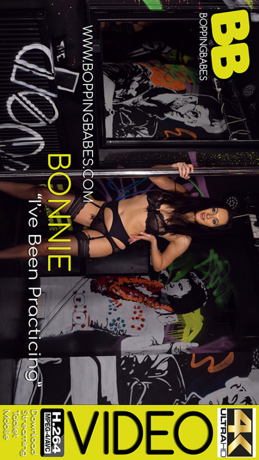 Bonnie in I've Been Practicing video from BOPPINGBABES