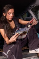 Katrin B in Katrin having sex in a car video from CLUBSEVENTEEN