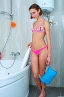 Lola F in Flat Chested Teen Lola Getting Wet gallery from CLUBSEVENTEEN