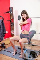 Lina Luxa in From Gym To Rubbing gallery from CLUBSEVENTEEN