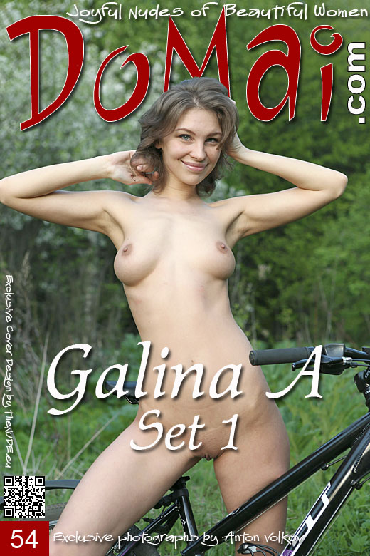 Galina A in Set 1 gallery from DOMAI by Anton Volkov