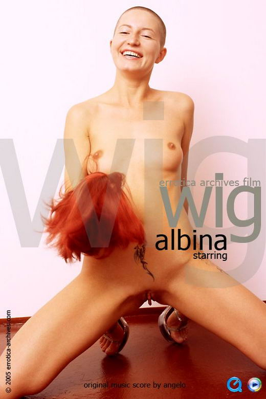 Albina in Wig video from ERRO-ARCH MOVIES by Erro