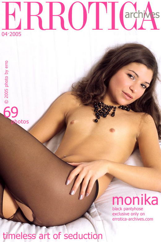 Monika in Black Pantyhose gallery from ERROTICA-ARCHIVES by Erro