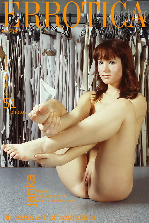 Janka in Flexible gallery from ERROTICA-ARCHIVES by Erro