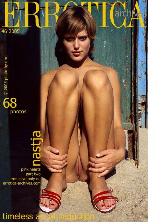 Nastja in Pink Hearts - Part II gallery from ERROTICA-ARCHIVES by Erro