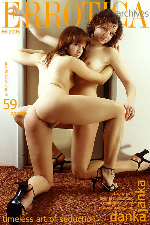 Janka & Danka in Happy Girls gallery from ERROTICA-ARCHIVES by Erro