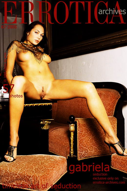 Gabriela in Seduction gallery from ERROTICA-ARCHIVES by Erro